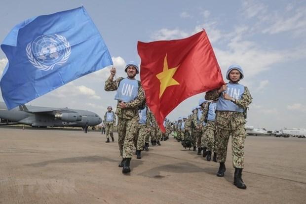 Les casques bleus vietnamiens au Soudan du Sud loues par la presse internationale hinh anh 2