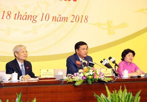 Election du president, vote de confiance et CPTPP au menu de la 6e session de l'AN hinh anh 1