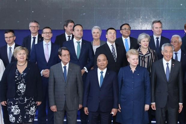 Cloture du 12e Sommet de l'ASEM hinh anh 1