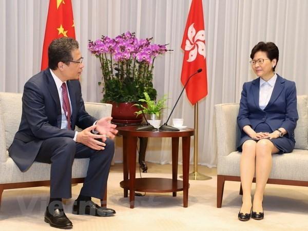 Promotion de la cooperation entre le Vietnam et Hong Kong (Chine) hinh anh 1