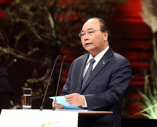 Le Premier ministre Nguyen Xuan Phuc au sommet P4G au Danemark hinh anh 1
