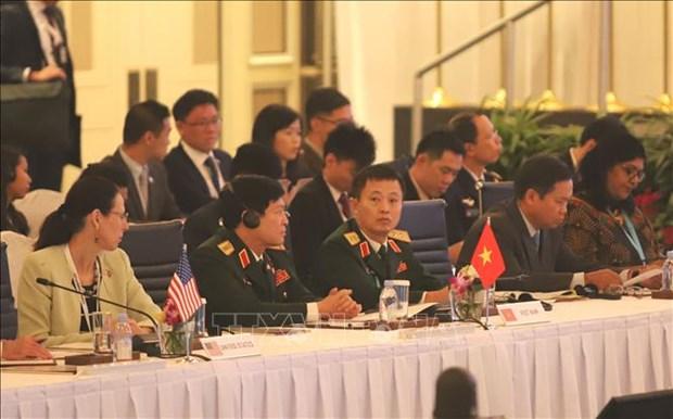 ADMM+ : cooperation dans la defense et instauration de la confiance substantielle hinh anh 1