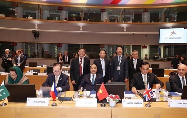 La tournee europeenne du PM temoigne de la responsabilite du Vietnam hinh anh 1