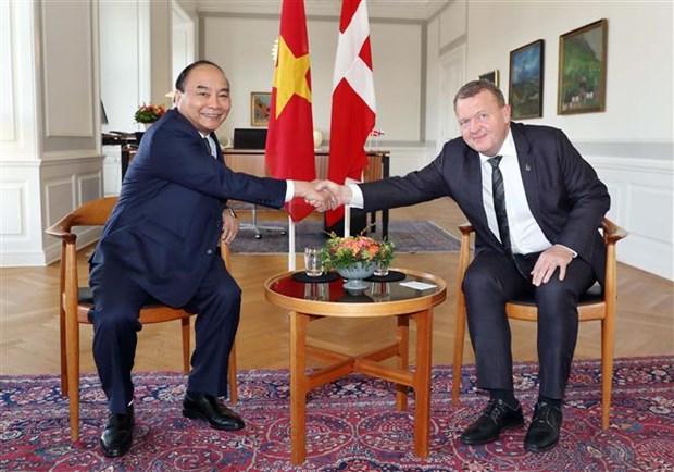 Le Vietnam cherit sa cooperation integrale avec le Danemark hinh anh 1