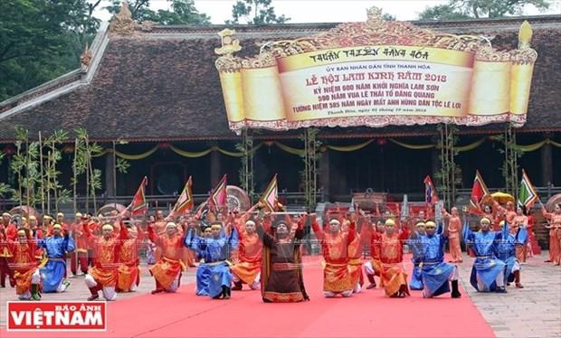 La fete de Lam Kinh glorifie la grandeur d'ame de Lam Son hinh anh 2