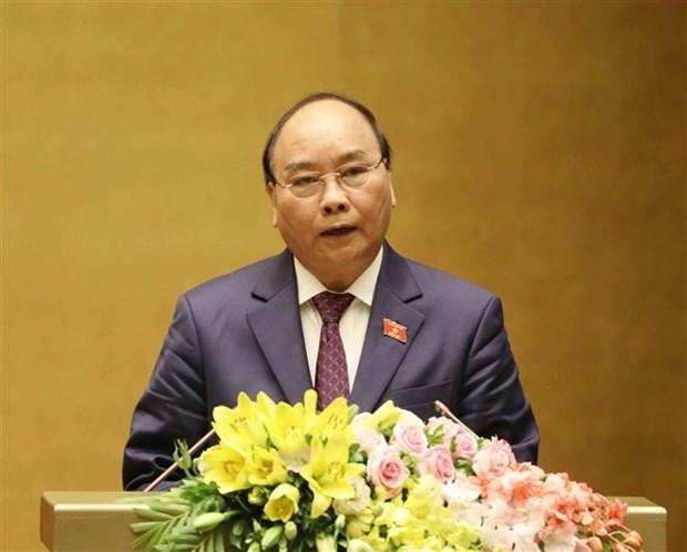 Le Premier ministre Nguyen Xuan Phuc souligne les acquis et les taches a venir hinh anh 2