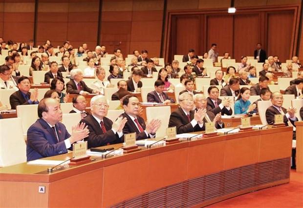 Le Premier ministre Nguyen Xuan Phuc souligne les acquis et les taches a venir hinh anh 1