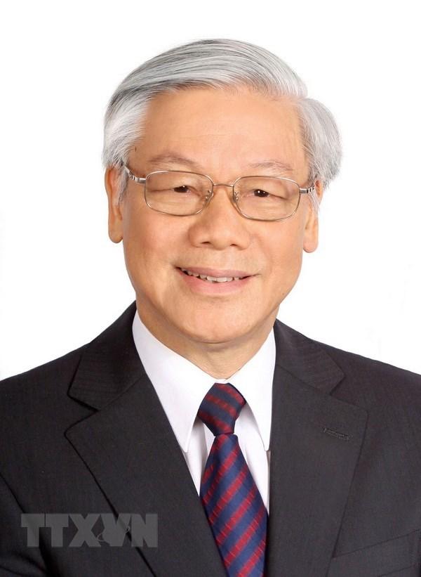 Le leader du PCV presente au poste de president de la Republique a l'Assemblee nationale hinh anh 1