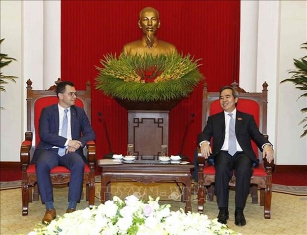 Vietnam et Roumanie promeuvent la cooperation economique hinh anh 1