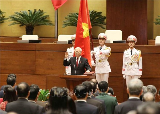 Felicitations des dirigeants indiens au president du Vietnam Nguyen Phu Trong hinh anh 1