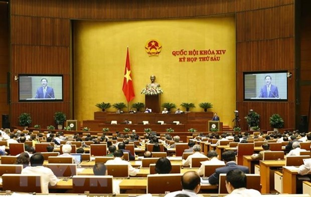 Les deputes discutent des questions socio-economiques et du budget de l'Etat hinh anh 1
