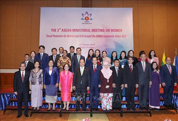 Ouverture de la 3e conference ministerielle de l'ASEAN sur la femme hinh anh 1
