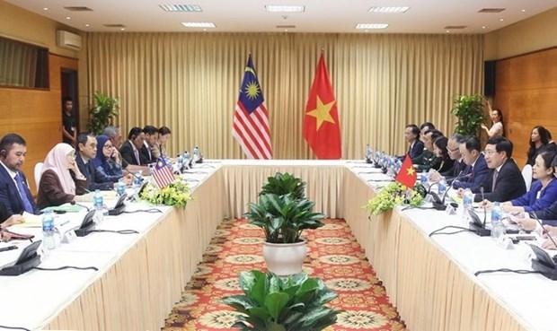 Renforcement des relations entre le Vietnam et la Malaisie hinh anh 1