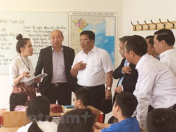 Recompense des eleves et etudiants vietnamiens en R. tcheque hinh anh 1