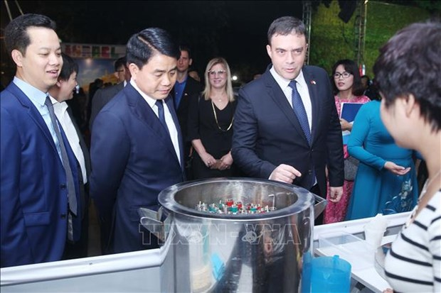 Exposition de technologies israeliennes a Hanoi hinh anh 1