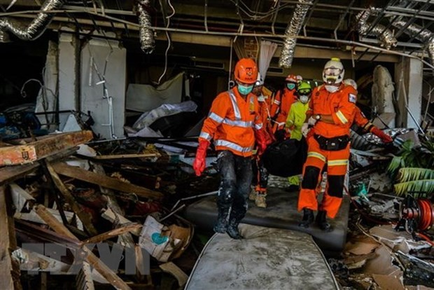 Seismes et tsunami en Indonesie : la reconstruction debute en novembre hinh anh 1