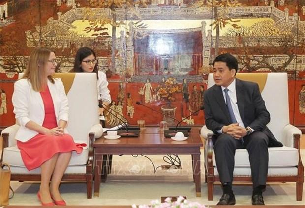 Hanoi et le pays de Galles veulent cooperer sur l'education hinh anh 1