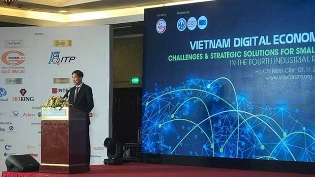 Le Forum sur l'economie numerique du Vietnam se focalise sur les PME hinh anh 1