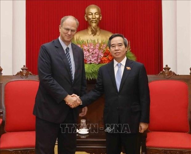 Le Vietnam promeut les liens traditionnels avec l'Allemagne hinh anh 1