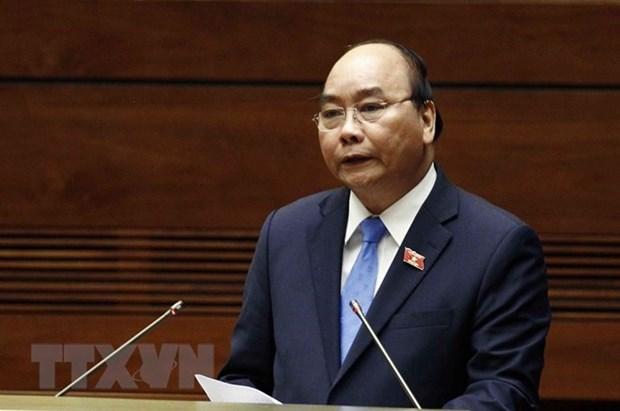 Le Premier ministre s'adresse a la seance de questions/reponses de la 6e session de l'AN hinh anh 1