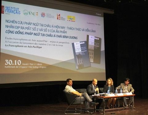 Une conference internationale sur les etudes francophones en Asie hinh anh 1