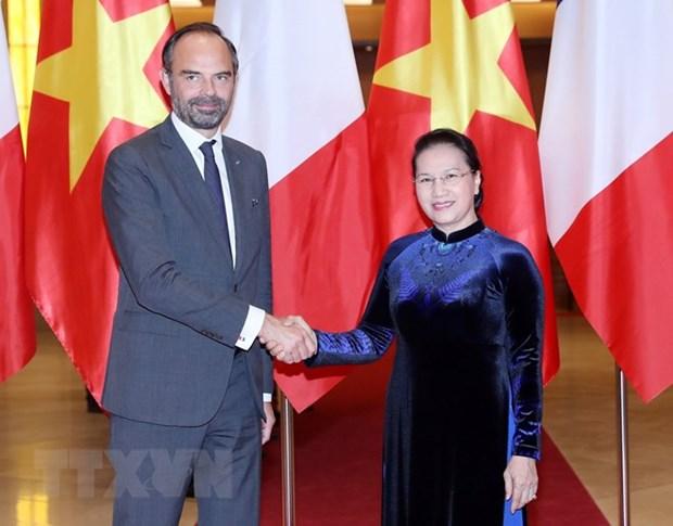 Le Vietnam attache de l'importance aux relations avec la France hinh anh 1