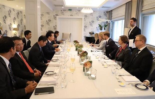 Le Vietnam promeut sa cooperation multiforme avec la Norvege hinh anh 1