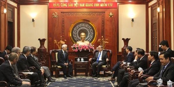 Ho Chi Minh-Ville et Hyogo veulent faire davantage d'affaires hinh anh 1