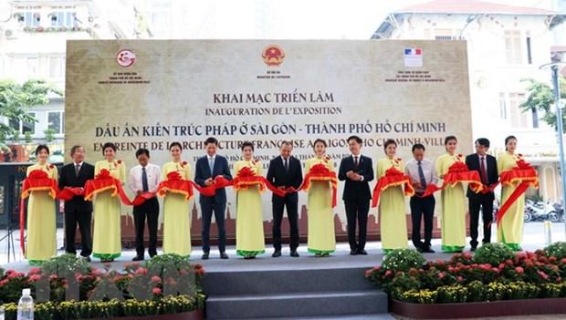 Une exposition sur l'architecture francaise a Sai Gon-HCM-Ville hinh anh 1