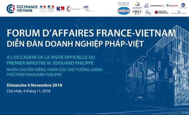Forum d'affaires France-Vietnam a Ho Chi Minh-Ville hinh anh 1