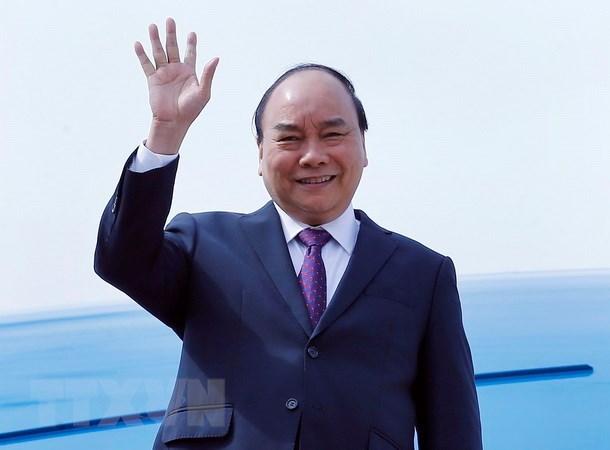 Le PM arrive a Shanghai pour participer a la foire CIIE 2018 hinh anh 1