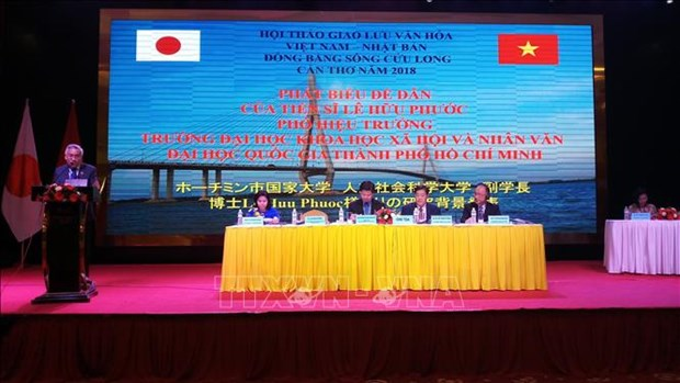 Colloque international sur les relations Vietnam-Japon a Can Tho hinh anh 1