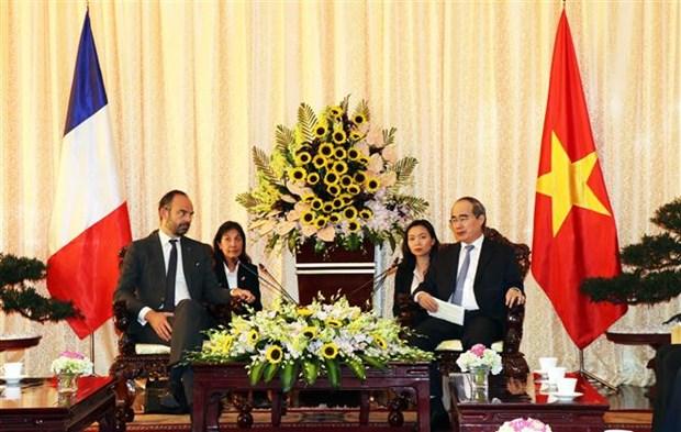 Ho Chi Minh-Ville souhaite renforcer sa cooperation avec la France hinh anh 1