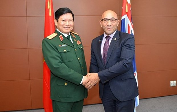 Le Vietnam et la Nouvelle-Zelande promeuvent les relations de la defense hinh anh 1