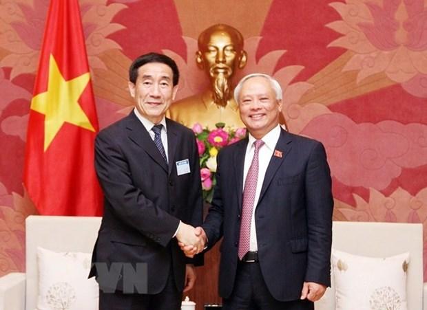 Le Vietnam et la Chine renforcent la cooperation entre leurs organes legislatifs hinh anh 1