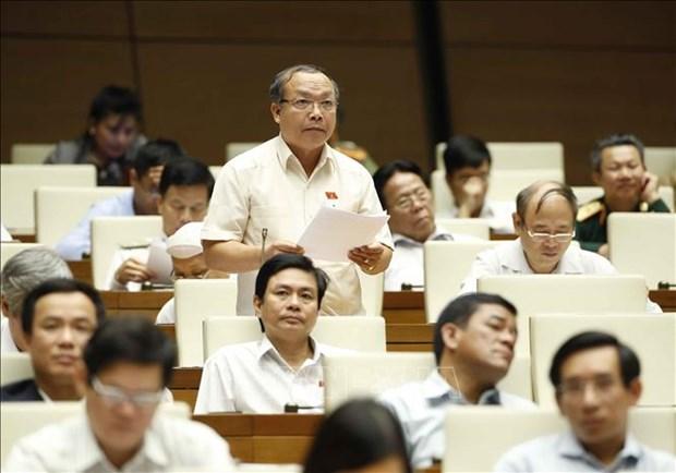 AN : debat sur les projets de loi sur l'enseignement universitaire et la police populaire hinh anh 1