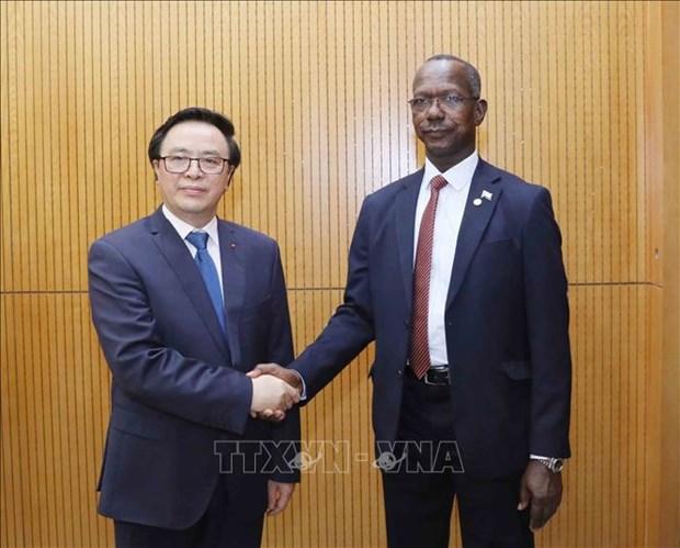 Parti : renforcement de la cooperation entre Vietnam et Soudan hinh anh 1