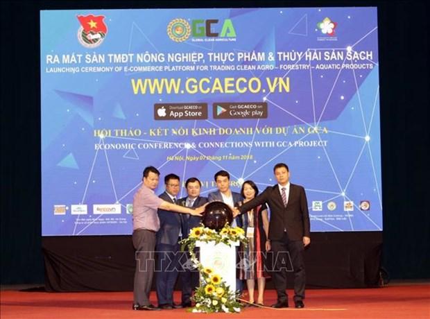Une plate-forme des produits agricoles propres lancee a Hanoi hinh anh 1