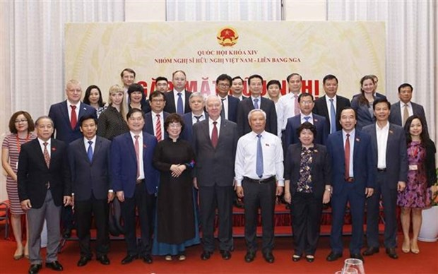 Rencontre du groupe parlementaire d'amitie Vietnam-Russie a Hanoi hinh anh 1