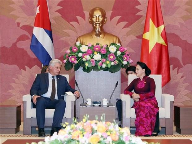 Renforcement de l'amitie entre le Vietnam et Cuba hinh anh 1