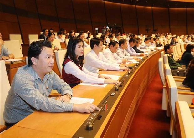 Les deputes etudient plusieurs projets de loi hinh anh 1