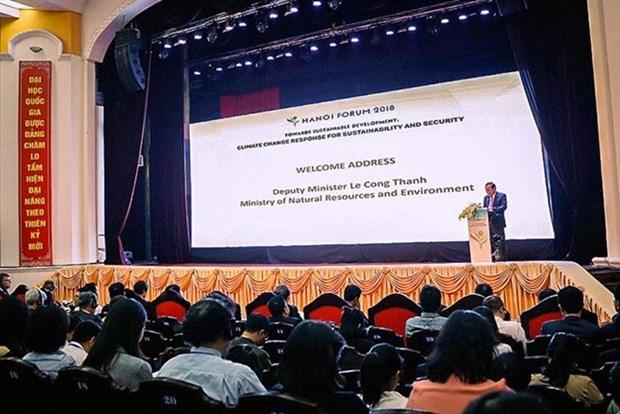 Le Forum de Hanoi 2018 met l'accent sur la resilience au changement climatique hinh anh 1