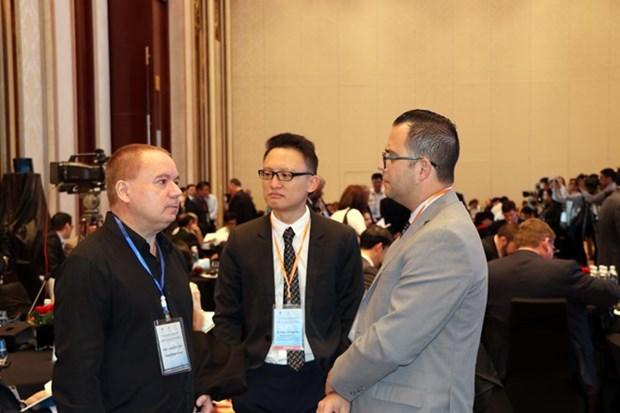 Cloture de la 10e conference internationale sur la mer Orientale 2018 hinh anh 1