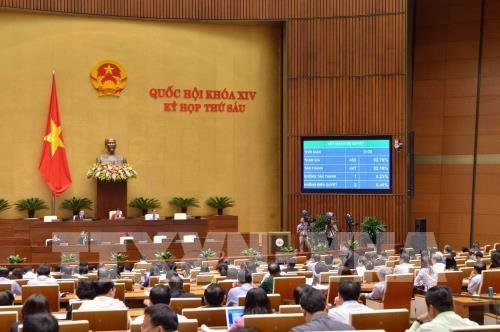 La 4e semaine de travail de la 6e session de l'Assemblee nationale (14e legislature) hinh anh 1