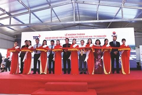 Le Vietnam se dote de sa premiere centrale solaire a Thua Thien-Hue hinh anh 1