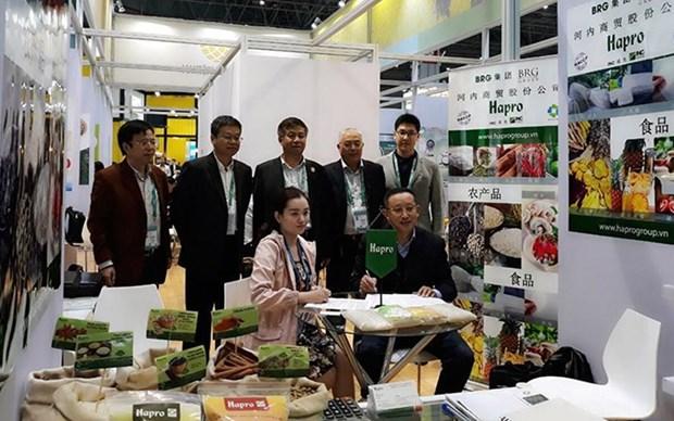 Hapro signe des contrats d'exportation agricoles de 2 millions de dollars hinh anh 1