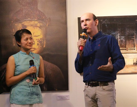 Un photographe francais celebre les pagodes vietnamiennes et leur lumiere hinh anh 1