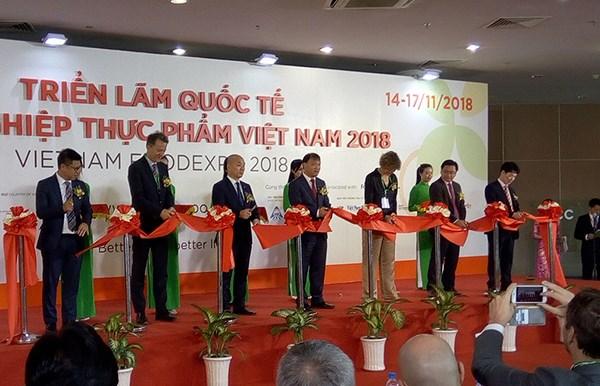 Ouverture de l'exposition internationale Vietnam Foodexpo 2018 hinh anh 1