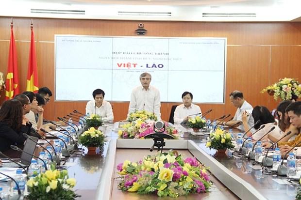 La Journee de l'amitie speciale entre le Vietnam et le Laos se tiendra a Dien Bien hinh anh 1
