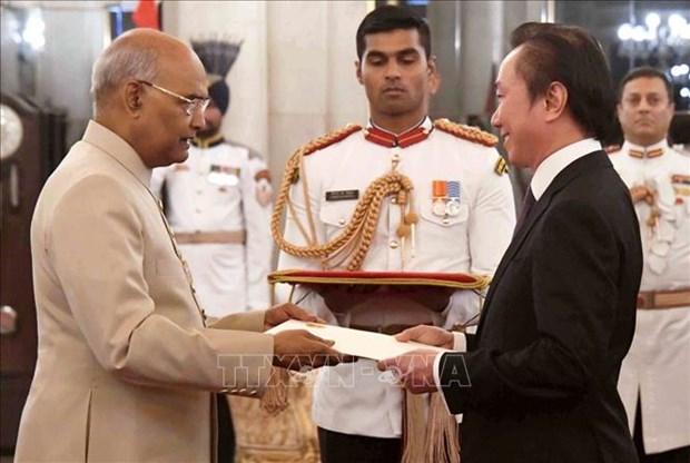Le Vietnam est pret a accueillir le president indien hinh anh 1